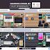 PSD 4 أغلفة للفيسبوك Facebook Covers Kit