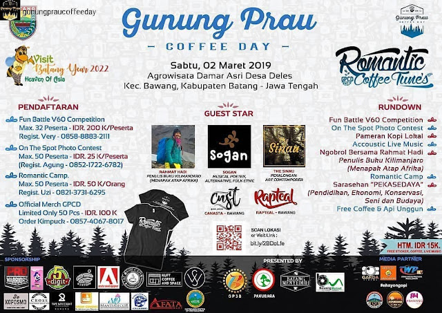 Gunung Prau Coffee Day 2019