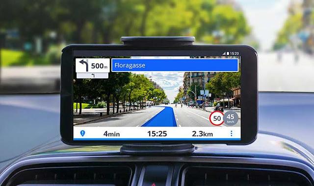 AR based navigation app