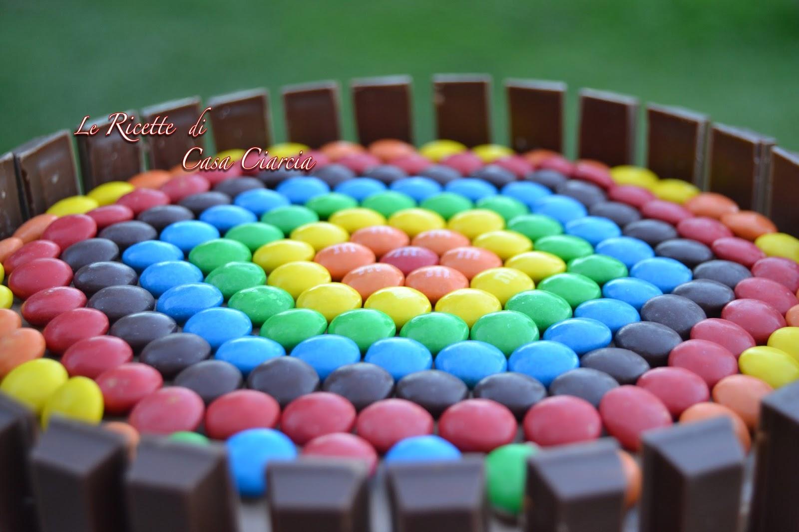 Le Ricette Di Casa Ciarcia Torta Smarties Kit Kat