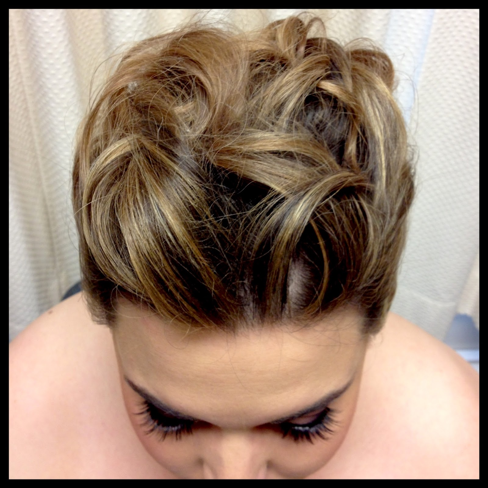 wedding hair in chicago behind the beauty bridal hair chicago