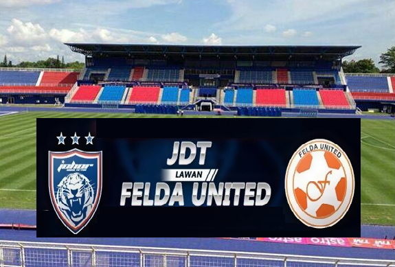 result JDT Vs Felda United Liga Super 3 Mei 2015