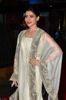 Samantha Ruth Prabhu cute in Lace Border Anarkali Dress with Koti at 64th Jio Filmfare Awards South ~  Exclusive 011.JPG