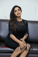 Telugu Actress Karunya Chowdary Latest Stills in Black Short Dress at Edo Prema Lokam Audio Launch .COM 0209.JPG