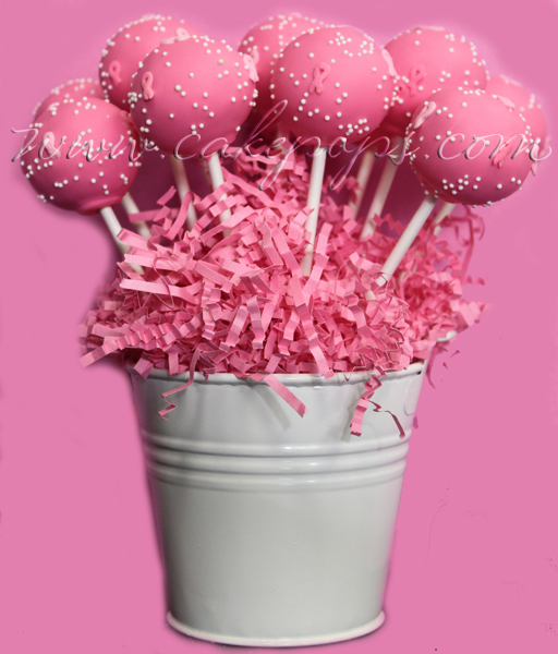 Candy's Cake Pops: Breast Cancer Cake Pop Gifts