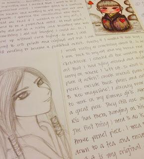 Anna Tets Legaspi Sketchbook Page