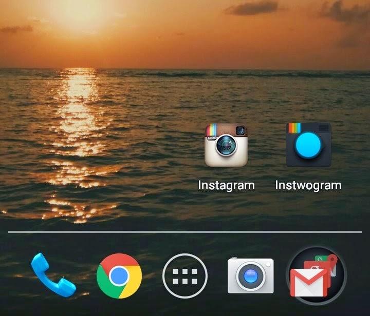 Instagram Apk Clone di Android (Instwogram)