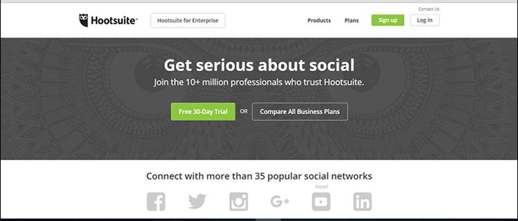 Hootsuite lets you do more with social media
