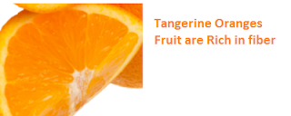 Health Benefits of Tangerine Oranges - Rich in fiber