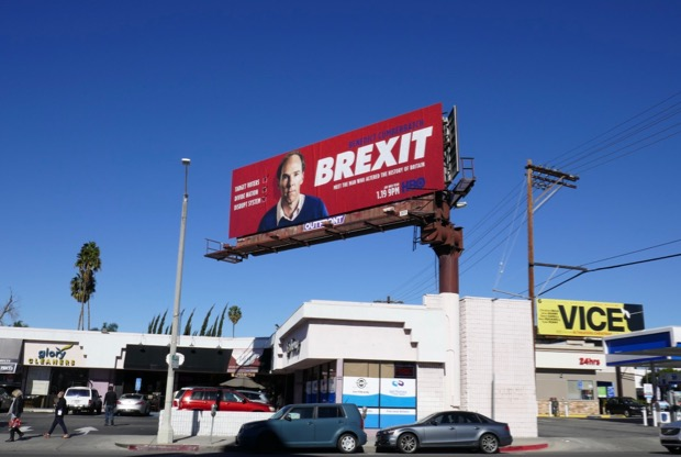 Brexit HBO billboard