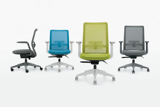 Global Factor task chair in designer color options