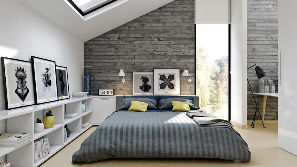 grey-brick-eclectic-industrial-bedroom