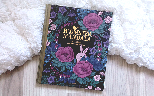 Blomstermandala By Maria Trolle Might Be My Favorite Coloring Book Its So Lovely And I Love All The Drawings In It Always Hesitate To Start