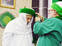 Habib Lutfli di Baiat Langsung Oleh Cucu Syekh Abdul Qadir al Jailany