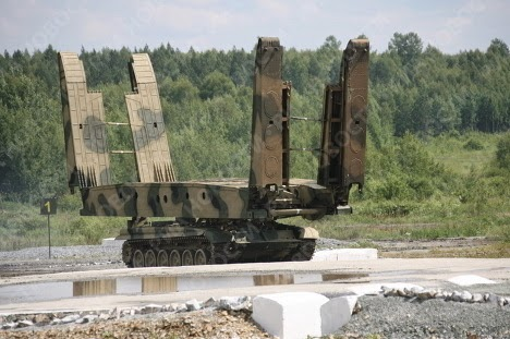 Russian MTU-72 Armored Bridgelayer