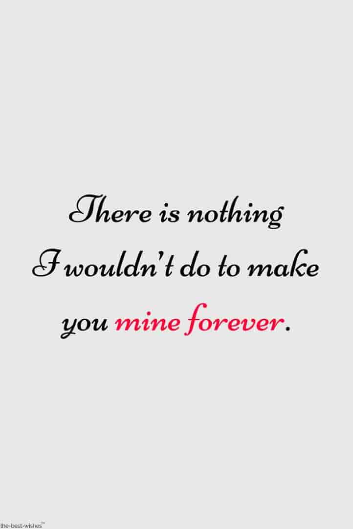 mine forever quote picture