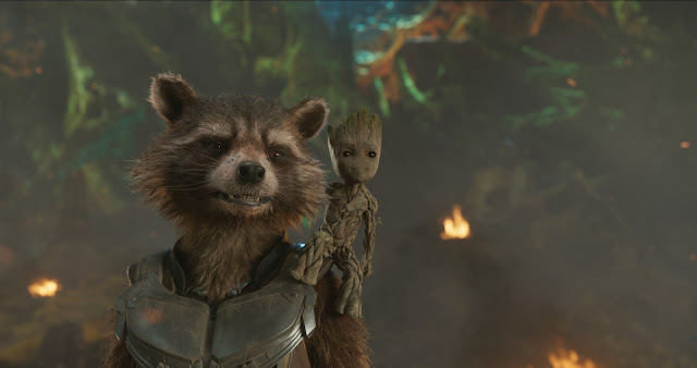 Rocket Baby Groot Guardians of the Galaxy Vol. 2
