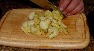 Chop Artichokes