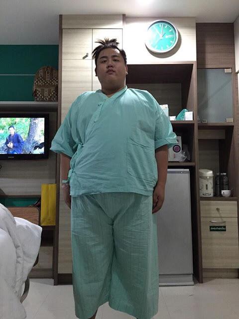 Perubahan Lelaki Obesiti Kepada Seorang Jejaka Pujaan Ramai Gadis Di Thailand (14 Gambar)
