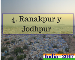 Viaje al norte de India - Ranakpur y Jodhpur