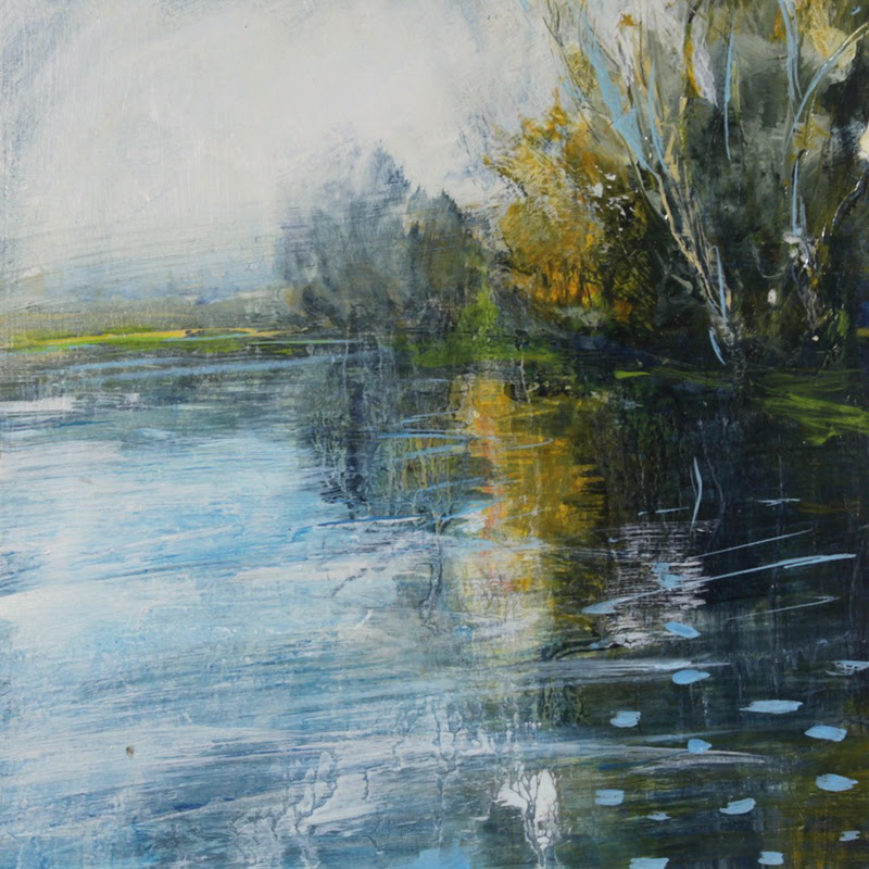 Glyndebourne and The River Ouse by Susie Monnington from England.