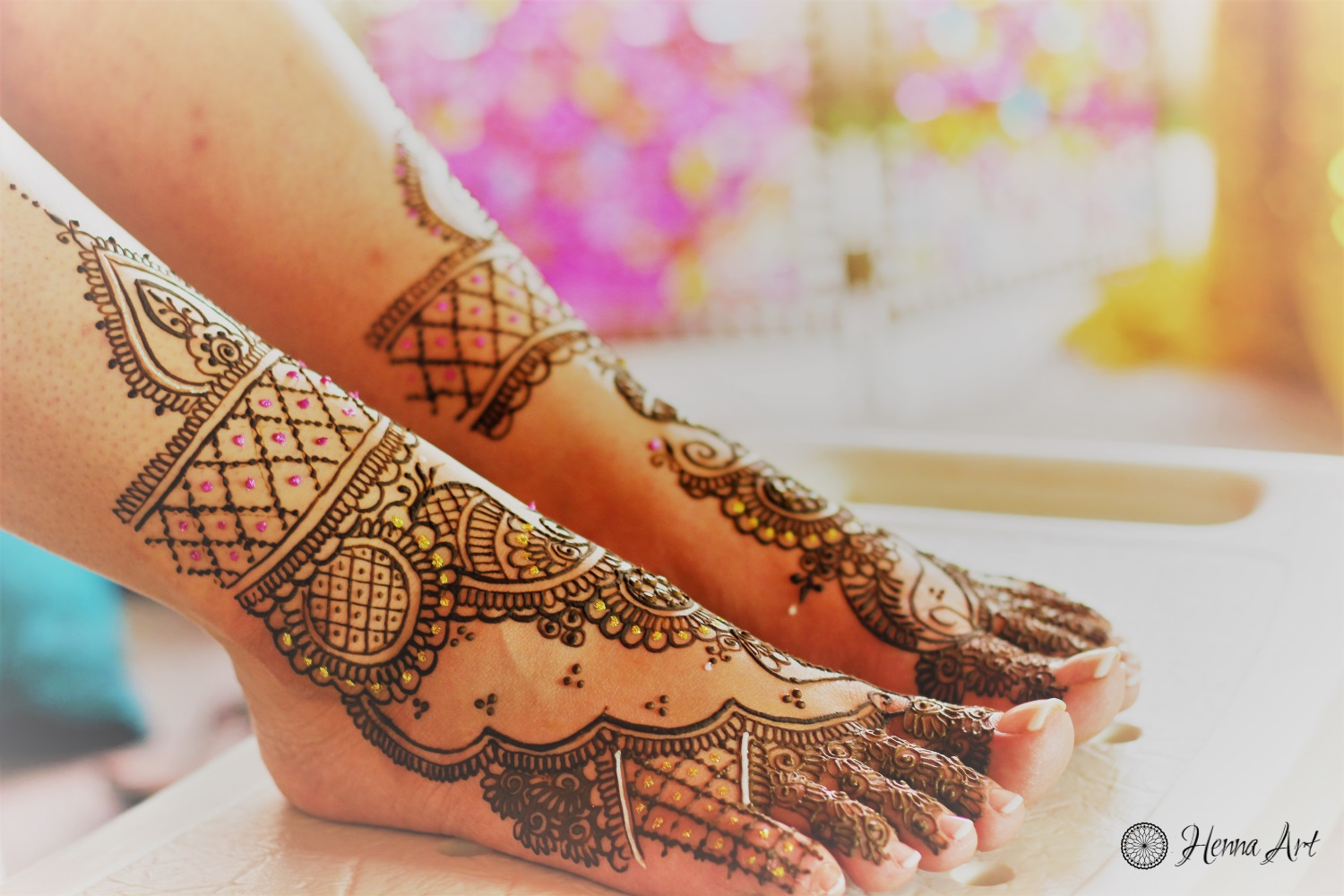 Bridal Mehndi On Foot : Bridal henna feet