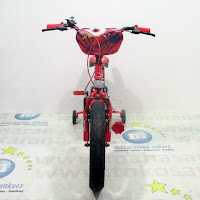 16 spider-man official licensed bmx sepeda