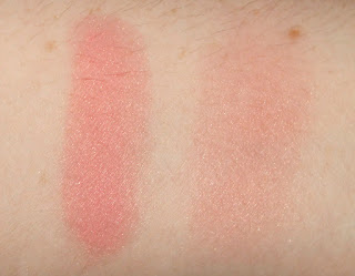 Chanel Joues Contraste Powder Blush in 72 Rose Initial review swatch swatches