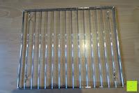 Ofengitter: Andrew James – 23 Liter Mini Ofen und Grill mit 2 Kochplatten in Schwarz – 2900 Watt – 2 Jahre Garantie