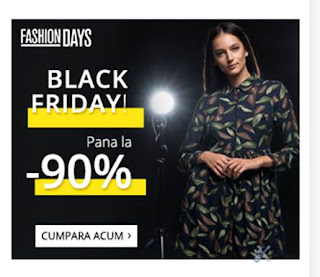 OFERTA Fashion Days de Black Friday 2017 pareri
