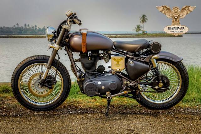 Emperor Motorcycles Retro Naut