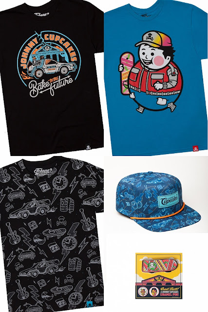 Johnny Cupcakes x Back to the Future T-Shirt Collection