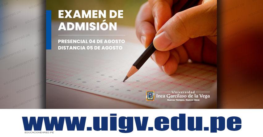 Resultados UIGV 2018 (Sábado 4 Agosto) Ingresantes Examen Admisión PRESENCIAL - Universidad Inca Garcilaso de la Vega - www.uigv.edu.pe