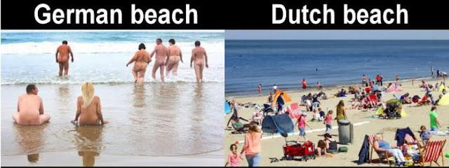 في الشواطئ