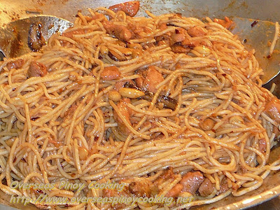 Charlie Chan Chicken Pasta - Cooking Procedure