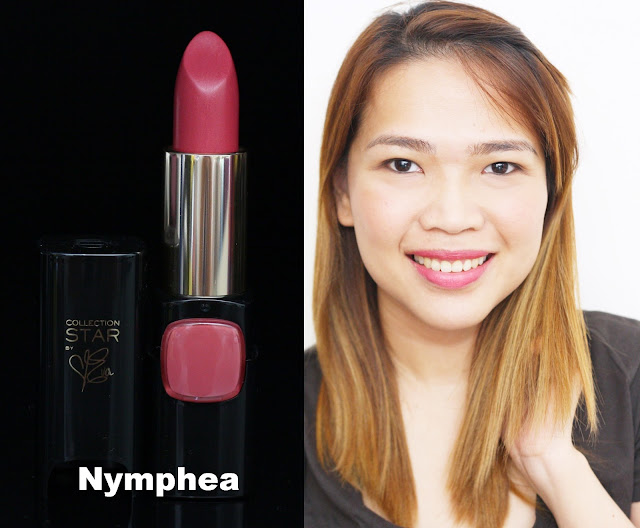 a photo of L'Oreal Color Riche Collection Star Velvet Pinks in Nymphea