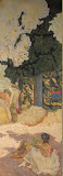 Mediterranean. Triptych by Pierre Bonnard - Landscape Paintings from Hermitage Museum