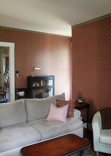 Paper House Family Room Vintage Wallpaper