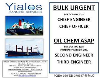 Recruit Messman, Oiler, Bosun For Oil Tanker Ship