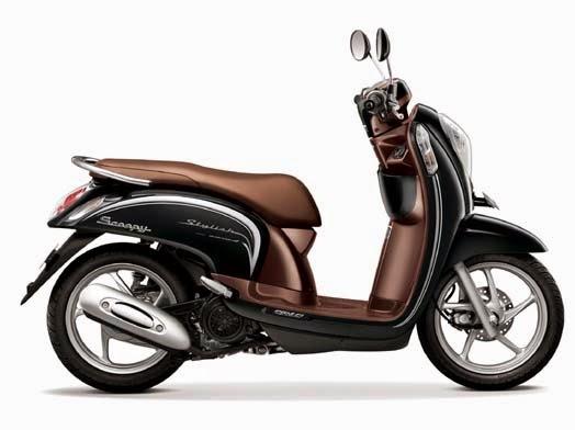 Honda Scoopy eSP Stylish Fancy Black