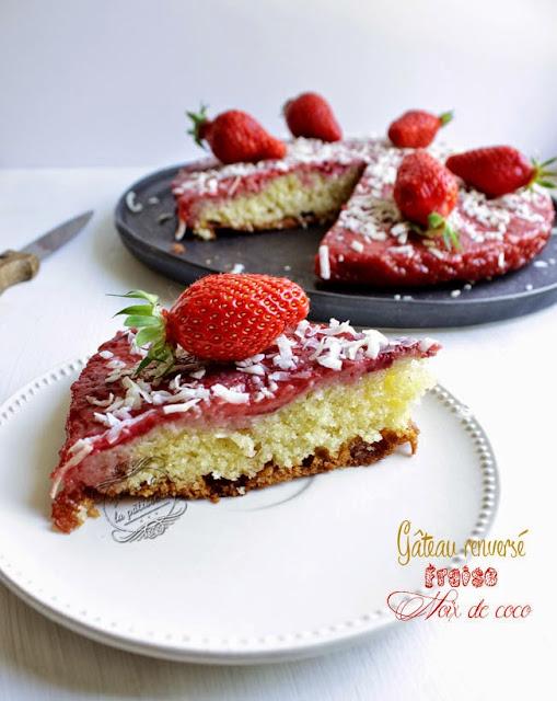 recette gateau aux fraises