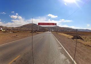 Bem vindo a Puno, no Peru.