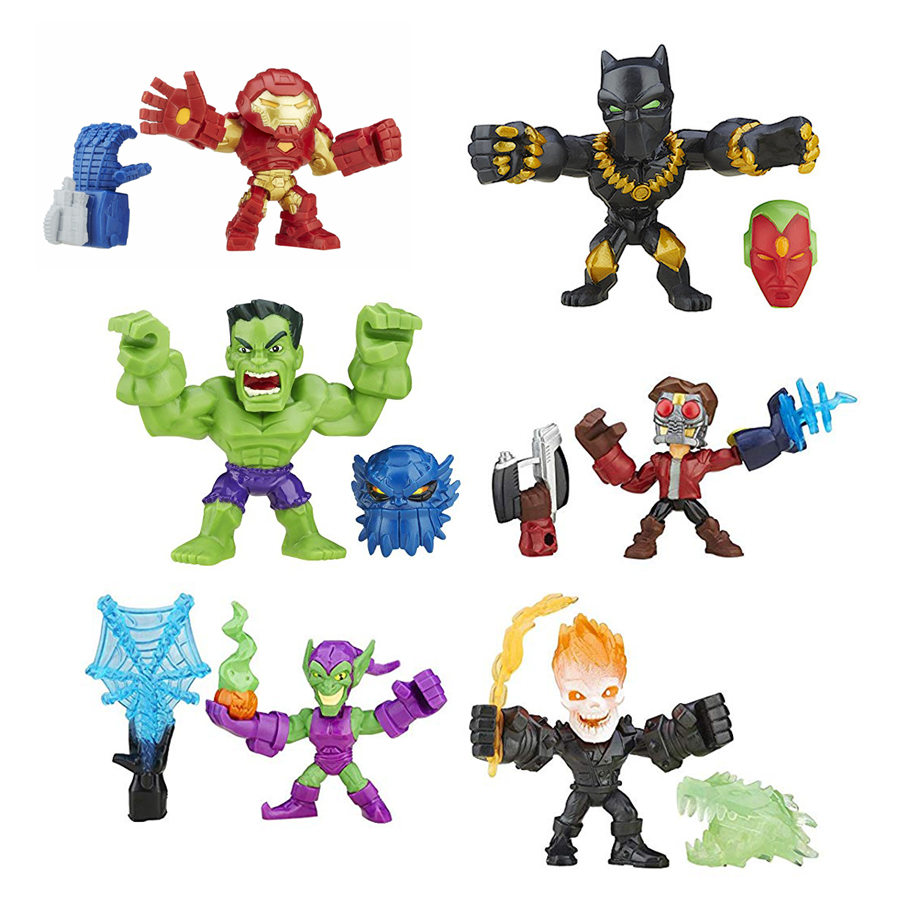 "Marvel Super Hero Mashers Micro Series 2/"" Mini Figure Green Goblin"