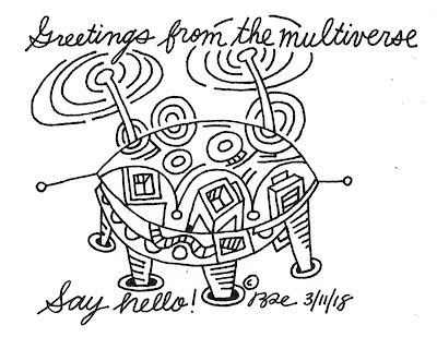 Greetings from the multiverse. Say hello!