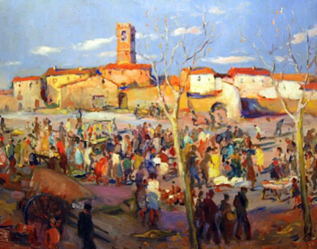 Antoni Trulls Pons, Paisajistas españoles, Paisajes de Antoni Trulls Pons Pintor español, Pintores de Barcelona, Pintores Catalanes