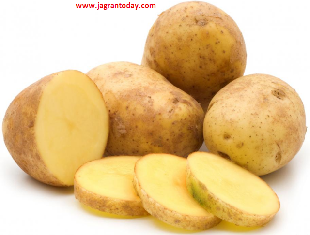 Healthy Vitamins Rich King of Vegetable Potato