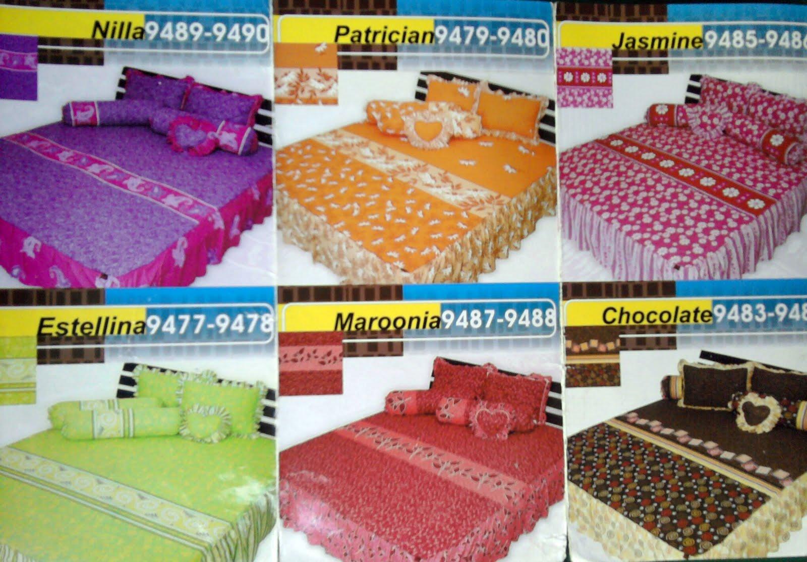 CLick It Sprei And Bedcover Cantik Bikin Tempat Tidur Adeem Dan