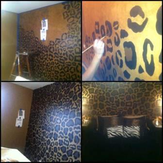 10 ideas geniales para pintar y hacer texturas en las - Como pintar una pared con textura ...
