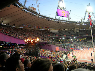 London 2012 Olympics - Inside the stadium