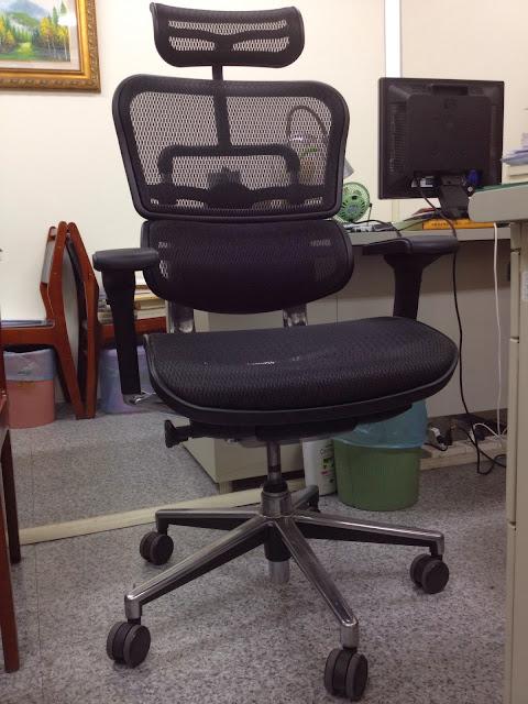 Ergohuman111 人體工學透氣網椅.豪優人體工學椅